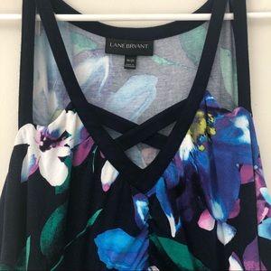 Lane Bryant Floral Maxi Dress